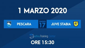 UNDER17 Pescara – Juve Stabia LIVE